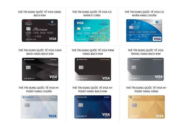 đáo hạn thẻ tín dụng Shinhanbank