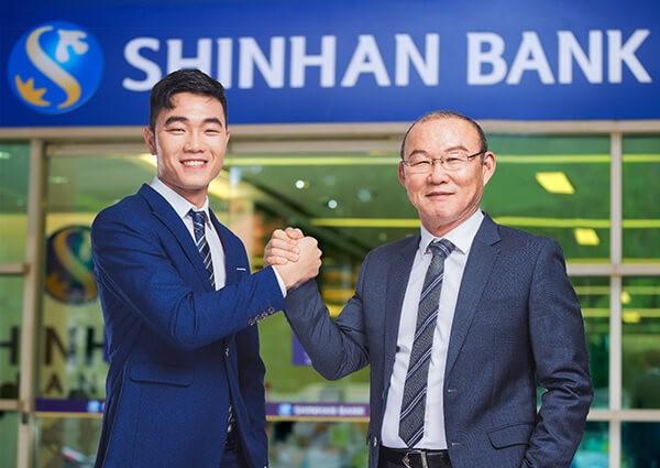 rút tiền mặt thẻ tín dụng Shinhanbank