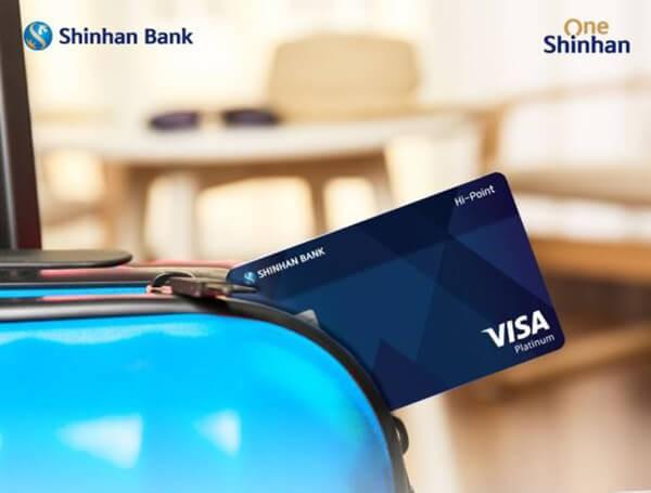 Dịch vụ rút tiền mặt thẻ tín dụng Shinhan Bank giá rẻ, tại nhà, phí thấp chỉ từ 1.6%