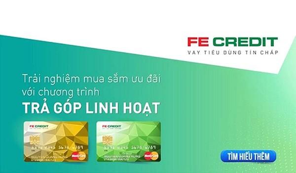 đáo hạn thẻ tín dụng Fe Credit Card