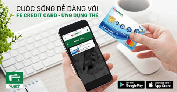 đáo hạn thẻ tín dụng FE Credit Card tại nhà