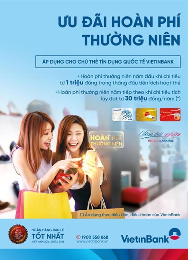 Mở thẻ tín dụng Vietinbank để nhận nhiều ưu đãi hấp dẫn