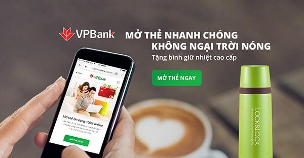 Mở thẻ tín dụng VPBank nhận nhiều ưu đãi