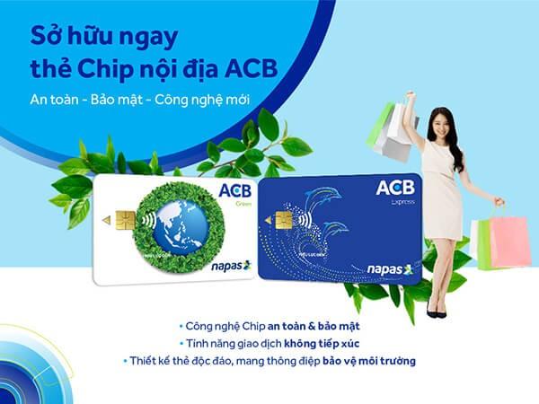 Rút tiền mặt thẻ tín dụng ACBBank