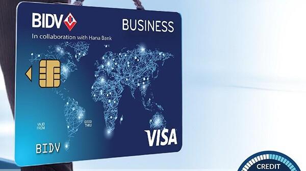 Thẻ tín dụng BIDV có hạn mức tín dụng cao lên tới 1 tỷ đồng