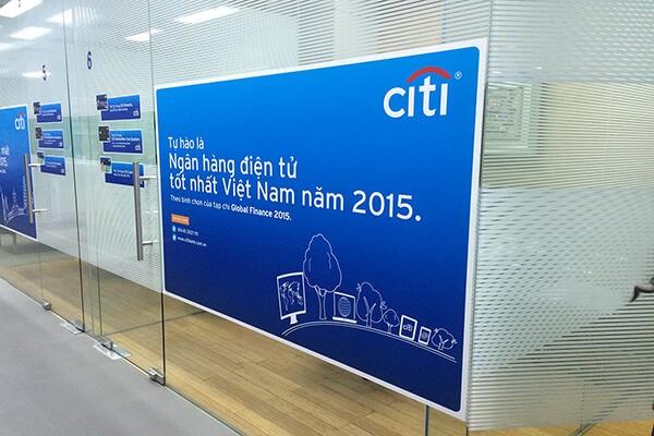 Citibank là ngân hàng đầu tiên của Mỹ được cấp phép thành lập và hoạt động tại Việt Nam.