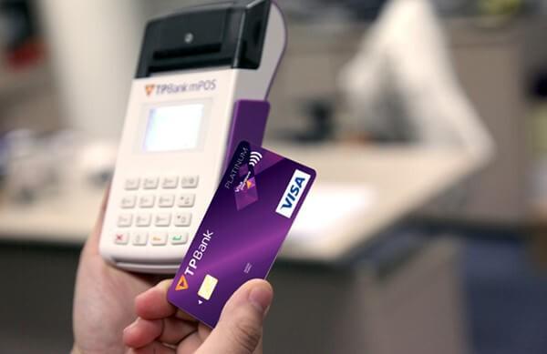 Rút tiền mặt thẻ tín dụng TPBank tại ATM/POS