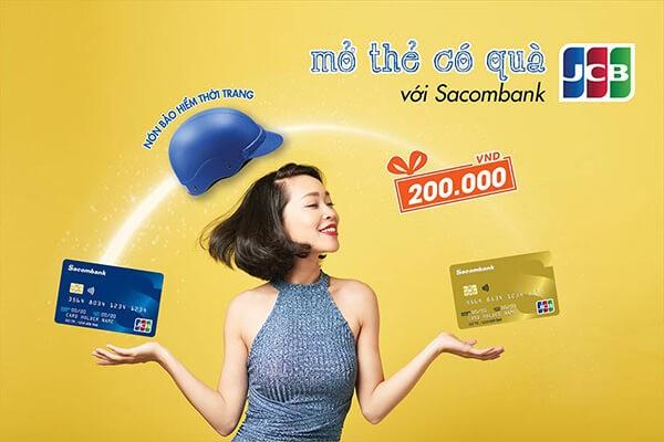 Mở thẻ tín dụng Sacombank với nhiều tiện ích hấp dẫn