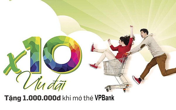 Mở thẻ tín dụng VPBank đã tận hưởng nhiều ưu đãi