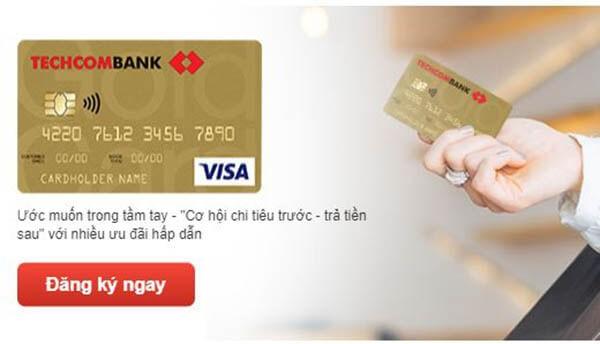 Mở thẻ tín dụng Techcombank nhận về nhiều ưu đãi hấp dẫn