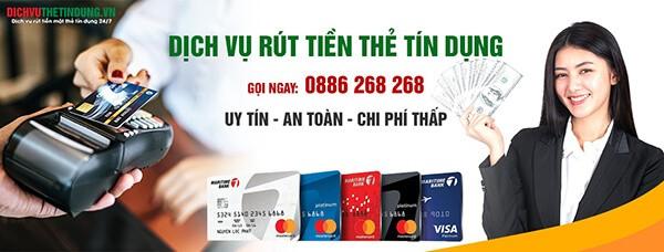 Địa chỉ rút tiền và đáo hạn thẻ tín dụng giá rẻ tại Hà Nội của dichvuthetindung.vn